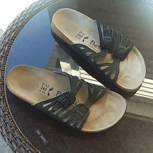 Betula by Birkenstock black sandal